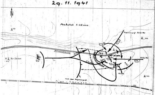 Battle Map 15th Panzerdivision