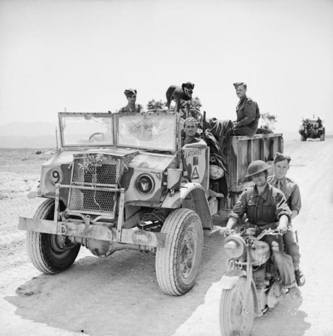 Motor Transport Organisation And Numbers In 8 Army