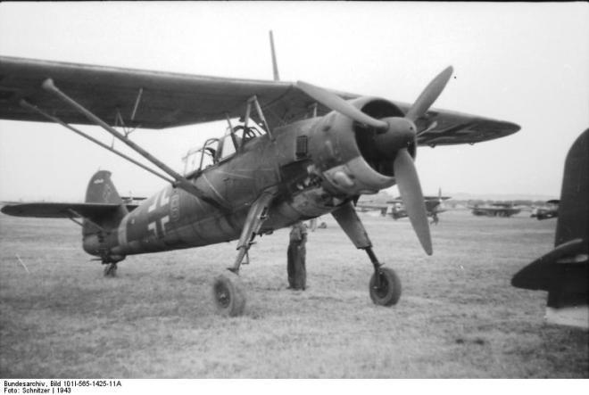 Italien, Flugzeug Henschel Hs 126