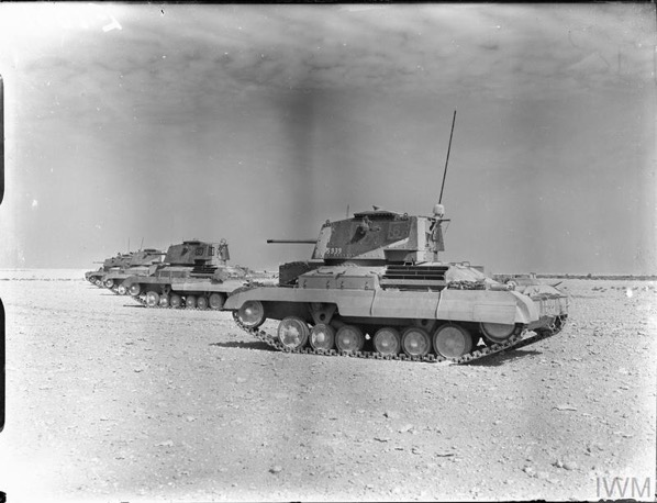 Order of Battle of 7 Armoured Brigade for Operation CRUSADER