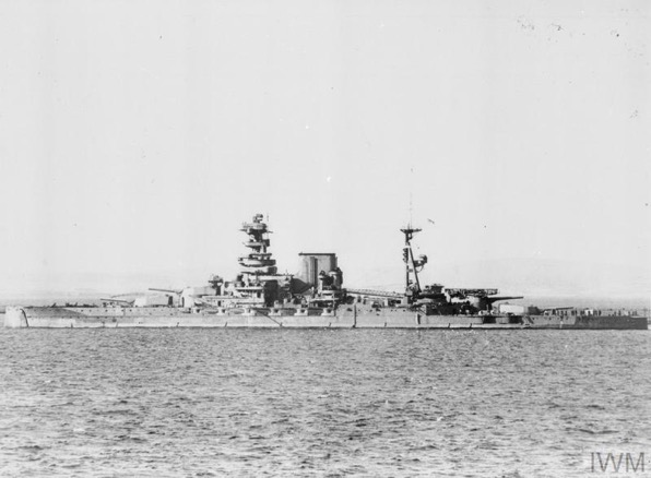 The loss of HMS Barham
