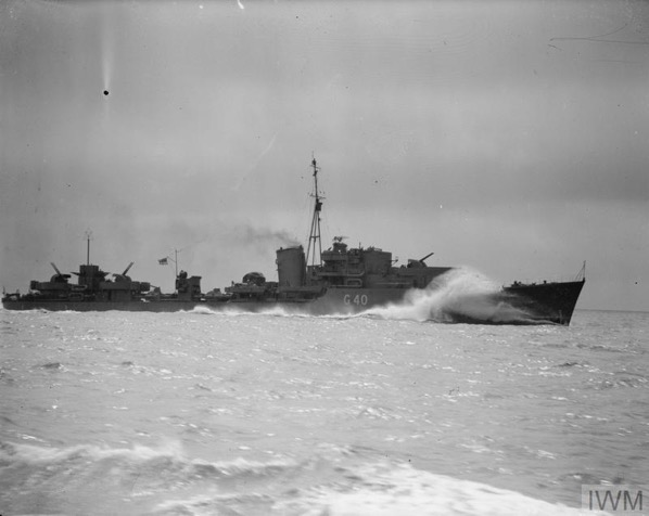 Reports by HMS Aurora on actions of Force K, 1941