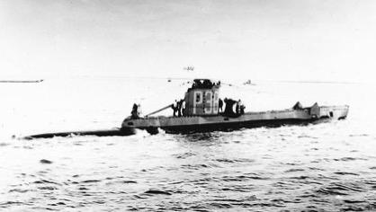 Hms p38 submarine