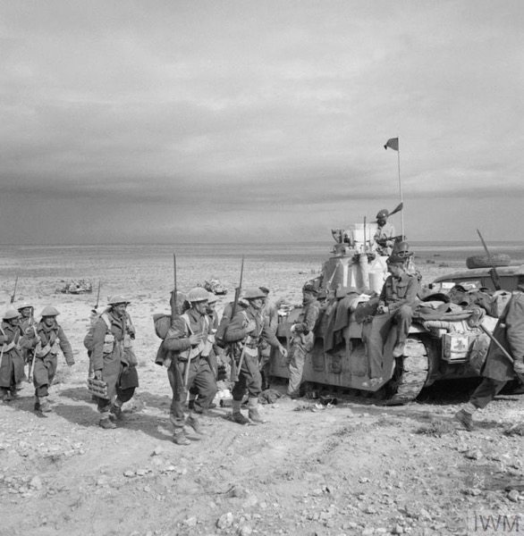New Zealand Division on Zaafran, 1 Dec 1941