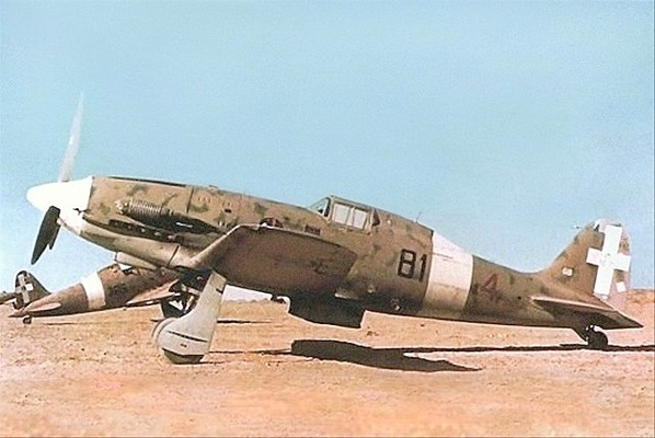 Regia Aeronautica fighter planes duringCRUSADER