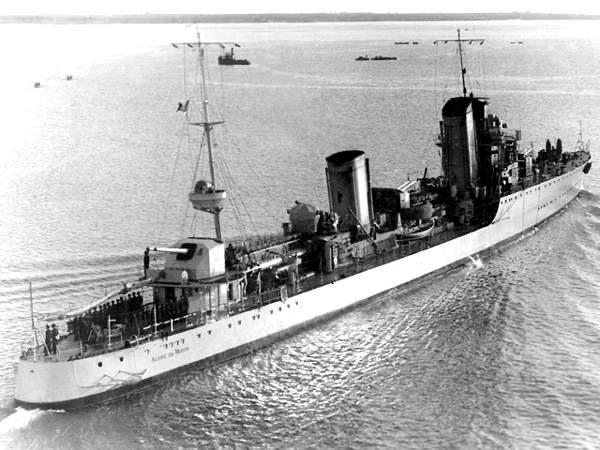German Antisubmarine Equipment on ItalianVessels