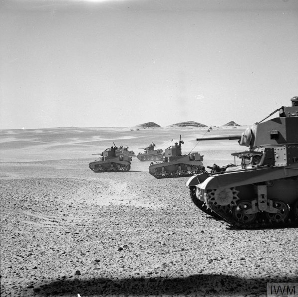 Experience with Cruiser Tanks in 2 Armoured Brigade, January 1942