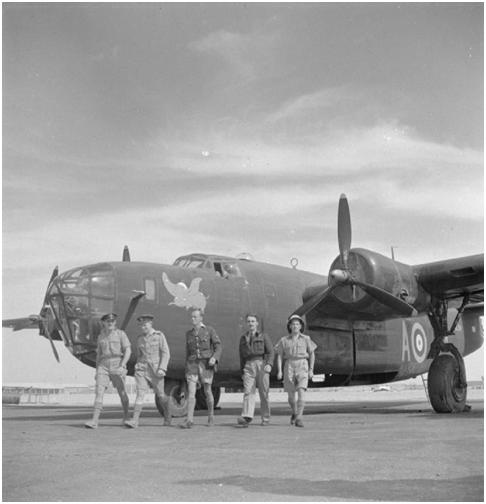 The first B-24 Liberators in the Desert
