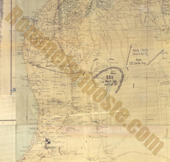 Panzerarmee Intelligence Assessment 25 January1942