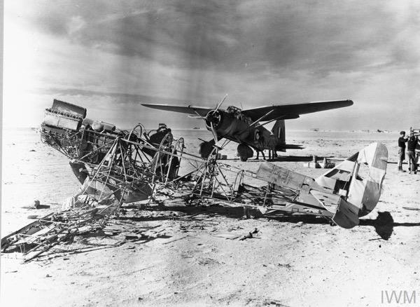 Axis Aircraft on Captured Landing Grounds–November/December 1941
