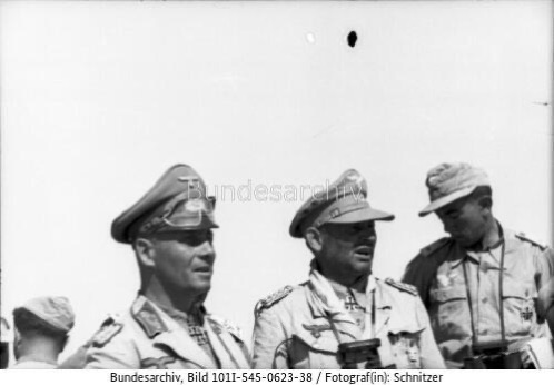 First German Paratroopers in the Desert