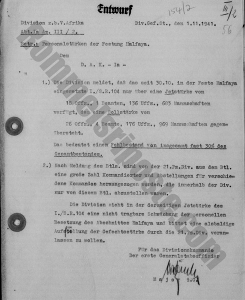 A Note on German Army Military UnitDesignations