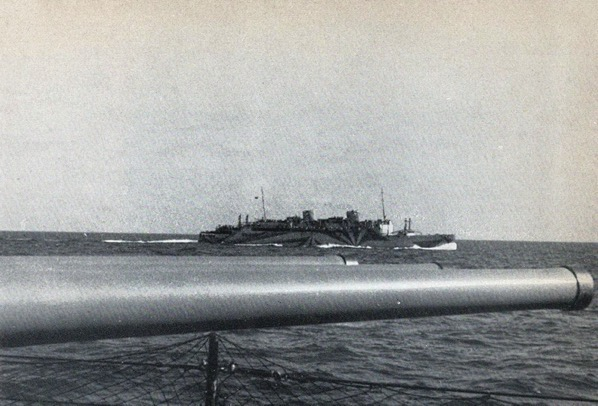 History of the Liner Victoria, sunk 23 Jan1942