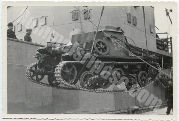 Initial Transport of the Afrikakorps to North Africa