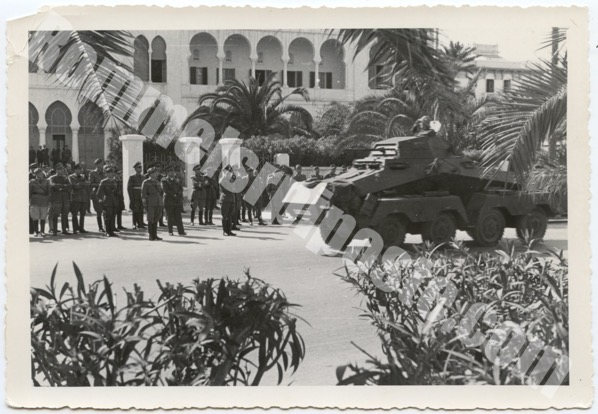 16 February 1941, German troops reach the forwardzone