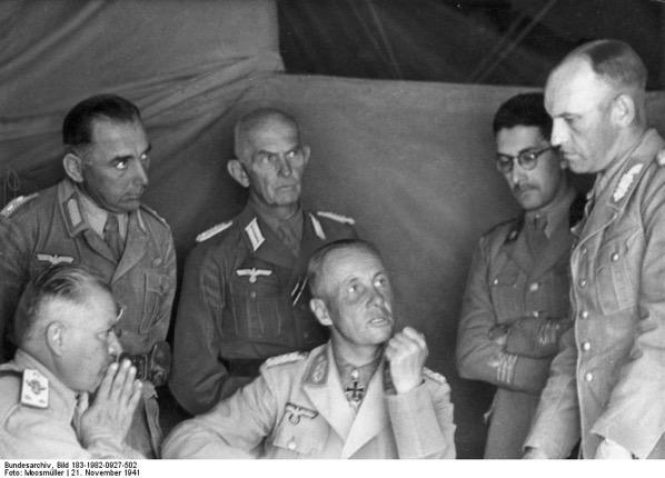 Bundesarchiv Bild 183 1982 0927 502 Nordafrika Navarini Rommel Diesener