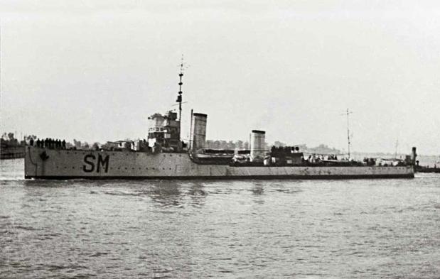 German Sonar on Italian Vessels – Pt.3
