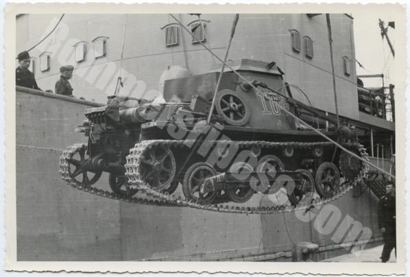 Panzerregiment 5 arrives. D.A.K. war diary entry 8 March1941