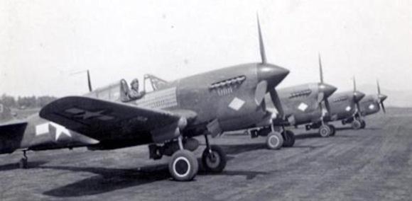 316th Fighter Squadron P 40 Warhawk