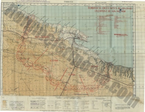 Tobruk 41 Map