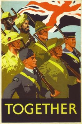 1940 s british empire military poster a3 reprint 10656 p
