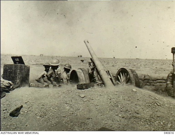 Artillery Order of Battle, Tobruk Fortress, 5 November 1941
