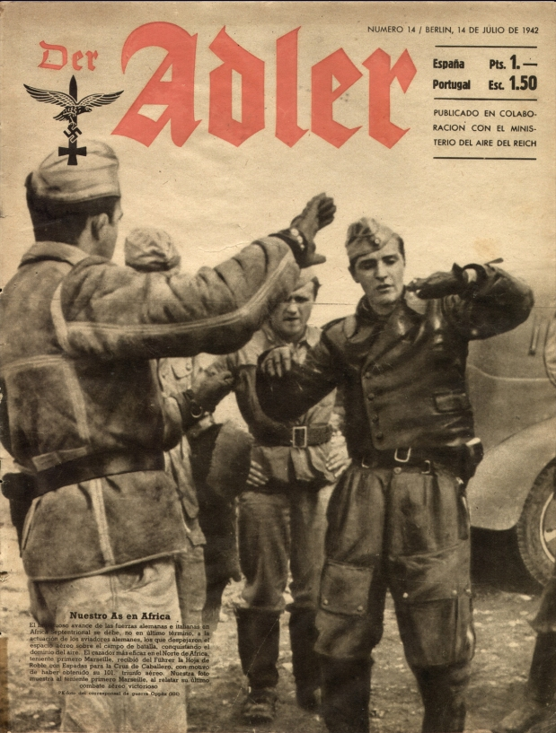 Not Crusader – Report on the Crash of Hans-JoachimMarseille