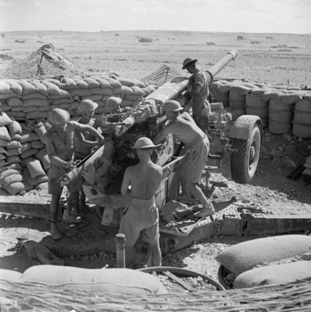 Use of the 3.7″ AA Gun in the Ground Role