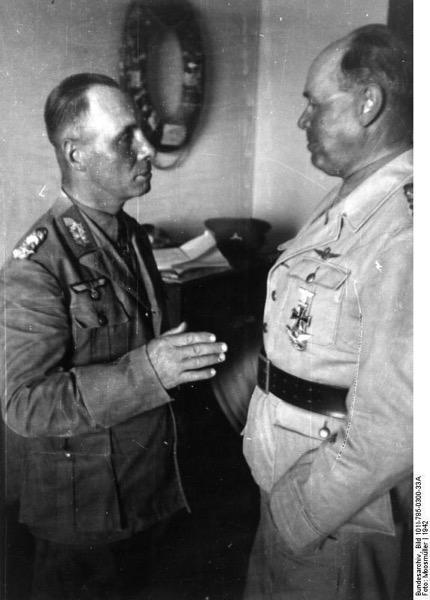 Bundesarchiv Bild 101I 785 0300 33A Nordafrika Rommel und Kesselring