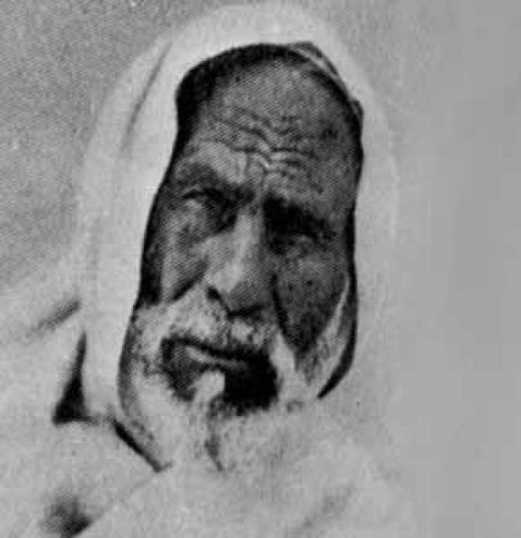 Close up Omar Mukhtar