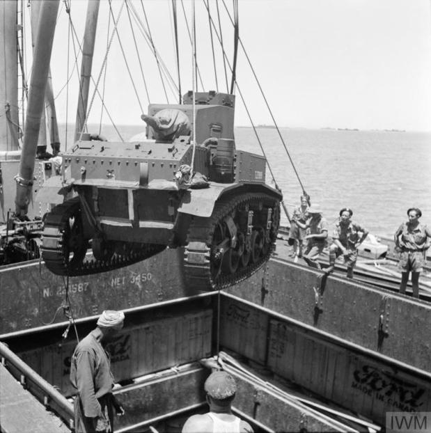 British and US tank deliveries to Egypt July 1941 to January 1942