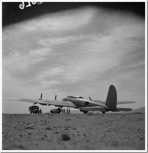 The first B-17C missions in North Africa