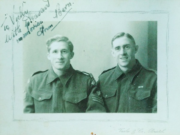 Happy 100th birthday to Staff Sergeant Staveley,R.T.R.