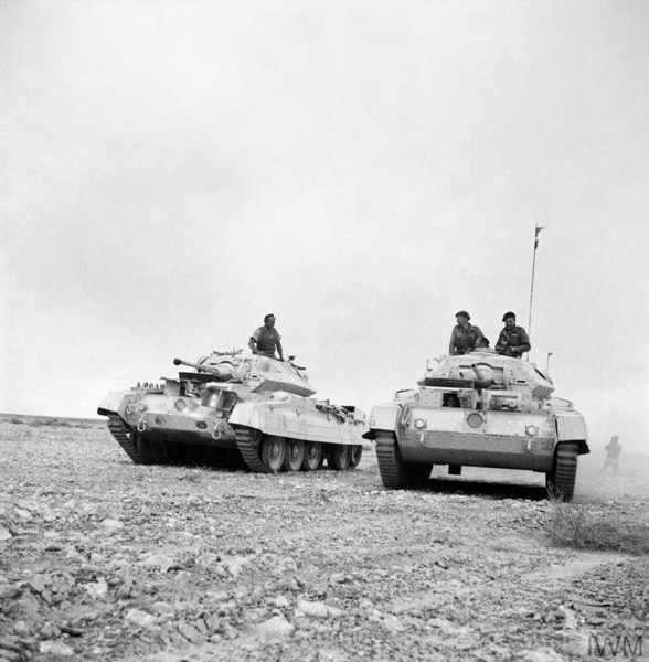 Strength of a UK Cruiser Armoured Regiment on the Eve of CRUSADER