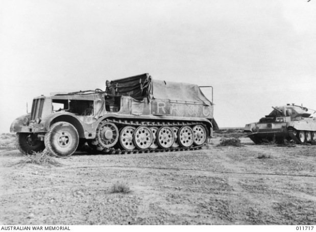 German armoured recovery