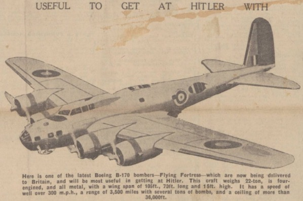 The first B-17C missions in NorthAfrica