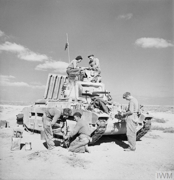 The Battle for 1 Army Tank Brigade's RepairShop
