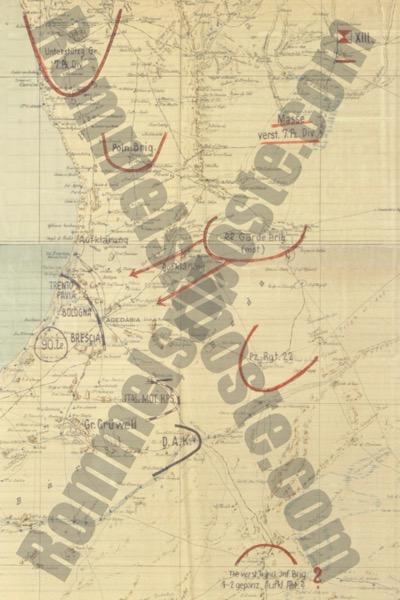 Panzergruppe Intel Assessment 29 December1941