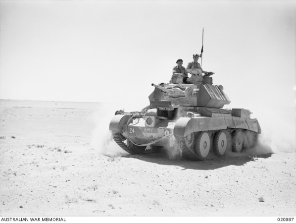 Empire Tank Numbers for Operation CRUSADER