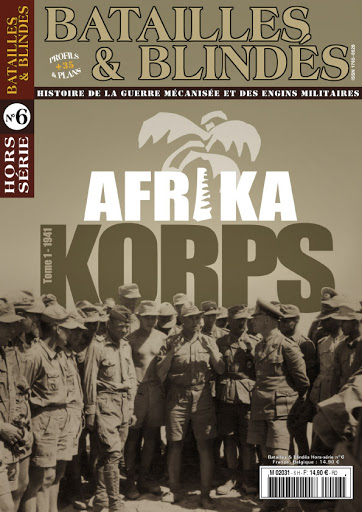 Book Review – Afrika Korps Tome 1 – 1941 by CédricMas