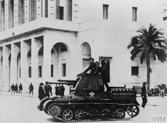 Panzerjäger I in Tripoli Libya 1941 IWM STT 3424